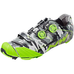 Northwave Extreme XC Shoes Men reflective camo/green fluo